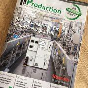 """ISO 27001 und IT-Sicherheit: Fachartikel von Peter Miller, Rhein S.Q.M..GmbH, in der Fachzeitschrift """"IT & Production"""""""