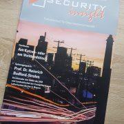 SECURITY insight - Cover der Ausgabe 5/2017 - mit einem Fachartikel von Peter Miller zur ISO 27001 und IT-Sicherheit