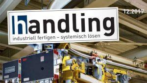 """Fachartikel """"Wissenstransfer / ISO 27001"""" in der Fachzeitschrift handling 12/2017"""